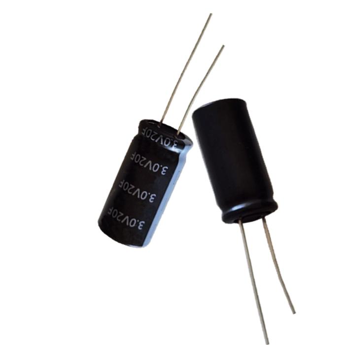 双电层电容容量